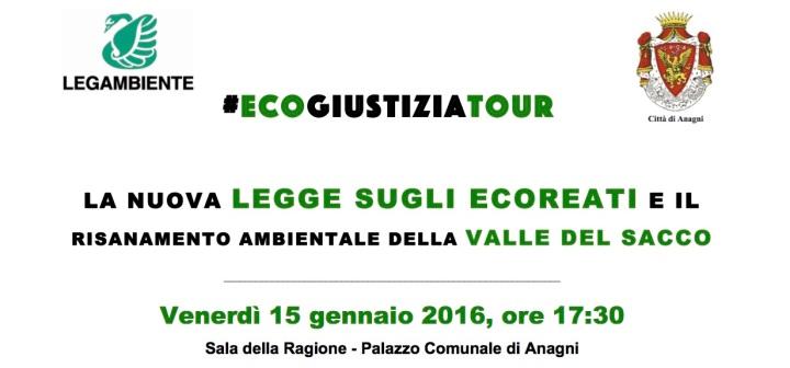 ecogiustiziatour Anagni 15 gennaio 2016